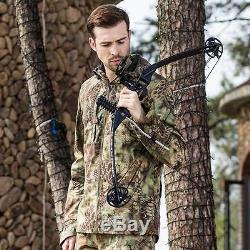 New Archery Compound Bow Right Handed Practice Hunting Accessory Set 25-45Lbs