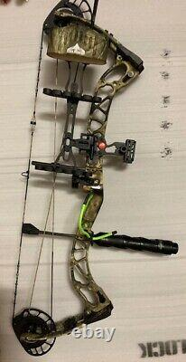 New PSE Brute Force NXT Bow Mossy Oak CAMO 70# RH Hunting Bow Package