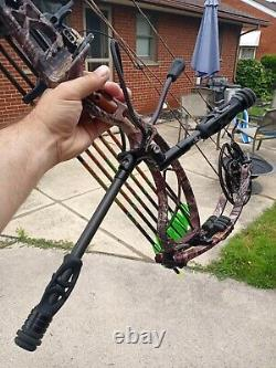 Obsession 7 hunting bow right handed 65 pd draw 29. Inch draw ready to hunt pa k