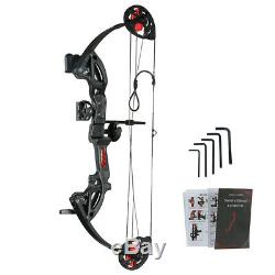 Outdoor 12-26lbs Compound Bow Hunting Archery Right Hand Target Bow for Youth