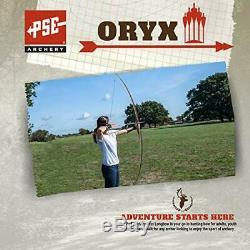 PSE ARCHERY Oryx Longbow-Wood-Set-Hunting Right Hand 68-40