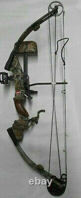 PSE Fire-Flite 33 Compound Hunting Bow Package! RH 28/70 arrow rest sight & more