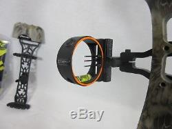 Parker GR-30 Right Hand Compound Bow Hunting Package 20 70# 17-30 Camo