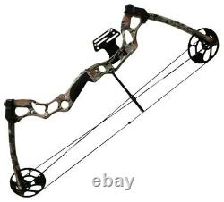Petron Stealth Hunter Adults Compound Bow Kit. Brand New. Draw Weight 50-75 Lbs