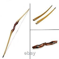 Premium American Luxury Longbow Outdoor Hunting Sports Takedown Straight Archery