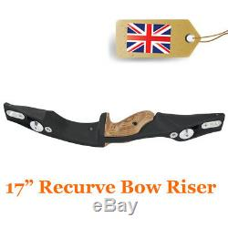 Recurve Bow Riser 17 inch ILF Handle RH for Archery Recurvebow Hunting Shooting