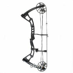 SAS Feud 25-70 Lbs 19-31 Compound Bow Hunting Target Field Black Open Box