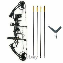 SAS Feud X 30-70 Lbs 19-31 Compound Bow Pro Package 300+FPS Target Hunting