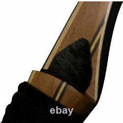 SAS Pioneer Traditional Wood Long Bow 68 Hunting Archery Longbow 50 LBs RH