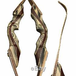 SAS Voyager 62 Premium Takedown Hunting Bow Archery Recurve with Bow Stringer
