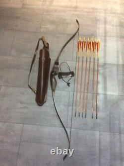 Samick SHB Bow 58 40lb Right Handed Fieldbow Recurve Hunting Archery Set