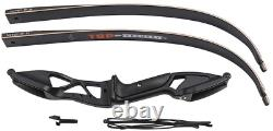 TOPARCHERY Archery 56 Takedown Hunting 50lbs Recurve Bow Metal Riser Right Hand