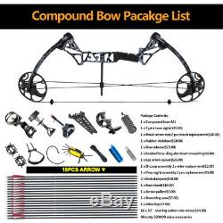 TOPOINT M1 15-70LB Compund Bow Arrow Hunting Target Archery Adult Set Whole