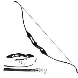 Takedown 30LBS Archery Recurve Bows Sets Hunting Target 56 Beginner Practice