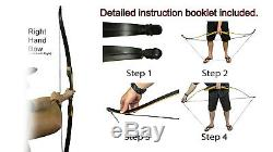 Takedown Archery Recurve Bow Sets 45Ibs Hunting Target Outdoor Practice Sports