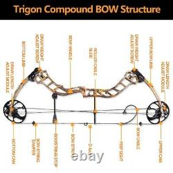 Topoint Archery Compound Bow 19-30/19-70Lbs Right Hand Hunting Archery Target