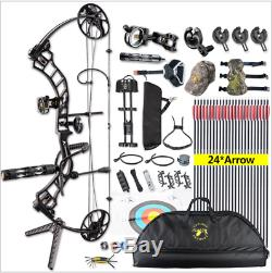 Topoint Trigon Compound Bow Right Hand Package Arrows Archery Target Hunting Set