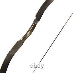 Traditional Recurve Bow Longbow Horsebow Right Left Hand 6-35lbs Archery Hunting