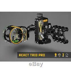 Trophy Ridge React Trio Pro Sight RH. 019 Black Compound Bow Archery Hunting