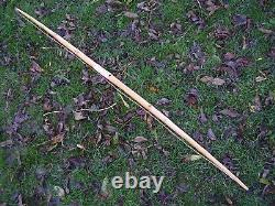 Yew English Longbow 65lbs @ 25 Full compass tiller Yew self bow, hunting/target