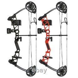 Youth Compound Bow Arrows Kit Outdoor Beginner Archery Shooting Hunt Junior Gift